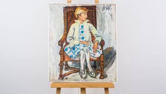 Eines der Bruno-Weber-Gemälde, um die es in dem Streit geht.