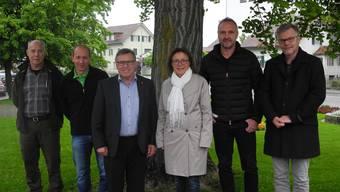 Die Verantwortlichen sehen im neuen Forstbetrieb Region Möhlin Vorteile für alle Beteiligten. mf