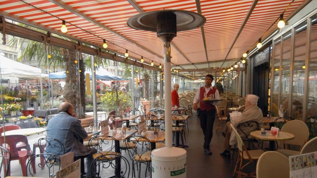 Kantonsparlament gegen Heizpilze auf Restaurant-Terrassen