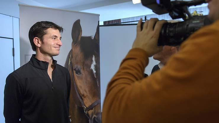 Steve Guerdat nimmt seine Rolle als Botschafter für den Pferdesport wahr.
