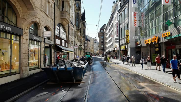 Für zwei Wochen bleibt die Innenstadt komplett drämmlifrei.