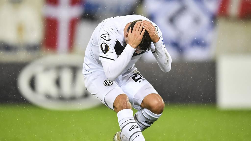 0:1 gegen Kopenhagen besiegelt Luganos Europacup-Aus