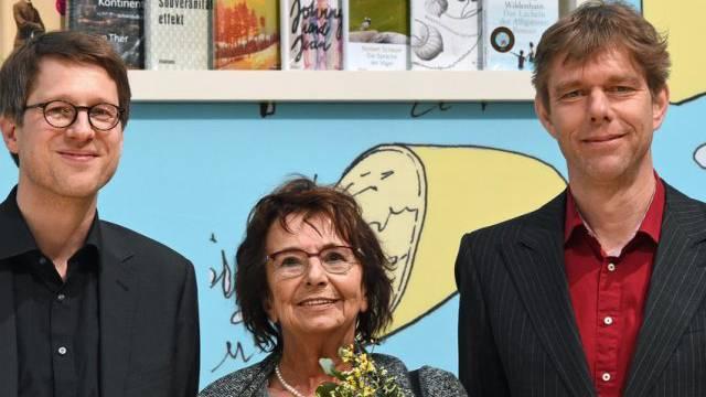Preisträger: Jan Wagner, Mirjam Pressler und Philipp Ther