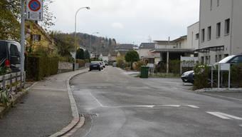 Der Strassenabschnitt in Gretzenbach, der saniert werden soll.