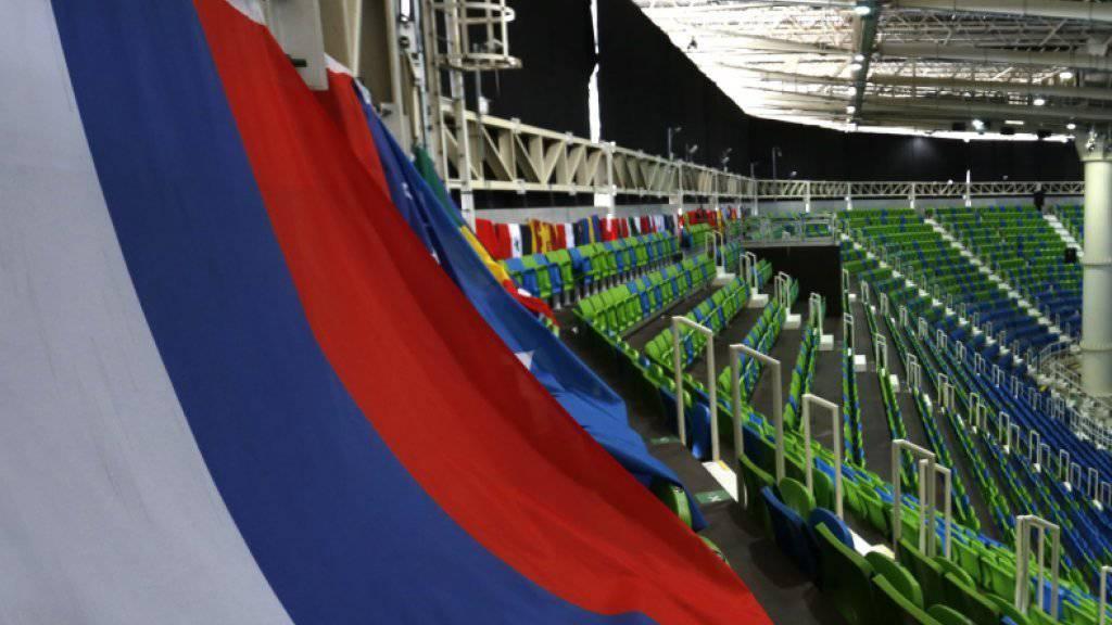 Russland Flagge dürfte an den Paralympics 2016 und 2018 fehlen