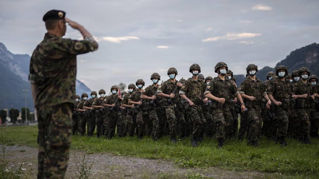Coronaeinsatz für Armee und Zivilschutz endet offiziell