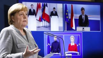 dpatopbilder - Noch bis Ende des Jahres führt Bundeskanzlerin Angela Merkel durch die deutsche EU-Ratspräsidentschaft. Foto: Markus Schreiber/AP POOL/dpa
