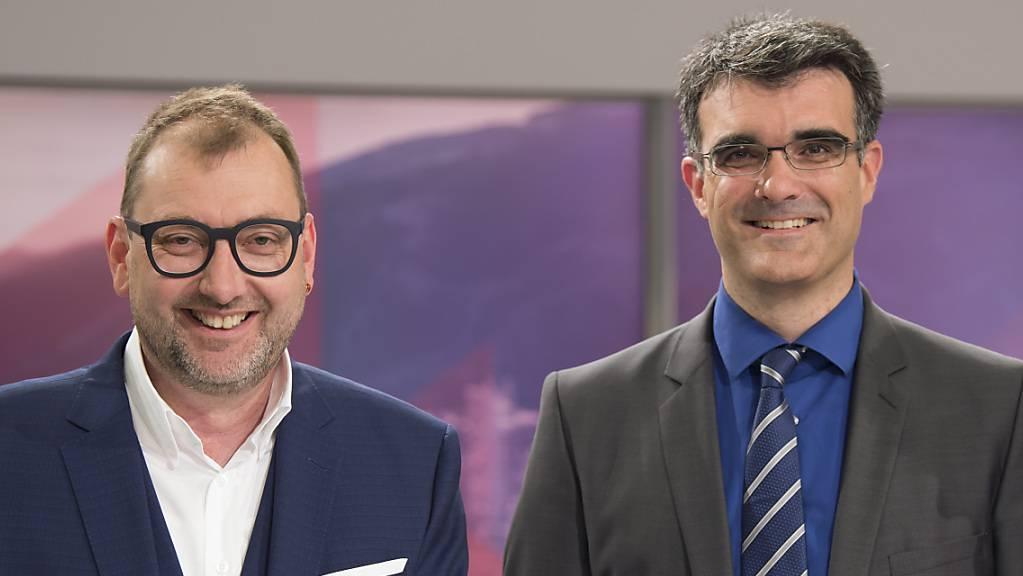 Der Mitte-Regierungsrat Marcus Caduff (rechts) wird nächstes Jahr Bündner Regierungspräsident, Sozialdemokrat Peter Peyer Vizepräsident. (Archivbild)
