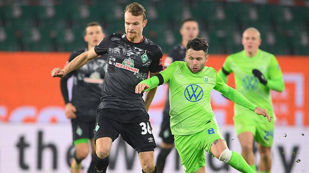 Wolfsburg gewinnt 8-Tore-Spiel gegen Bremen