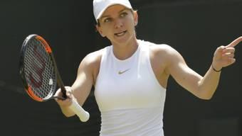 Out in der 3. Runde: Simona Halep, die Weltnummer 1 aus Rumänien