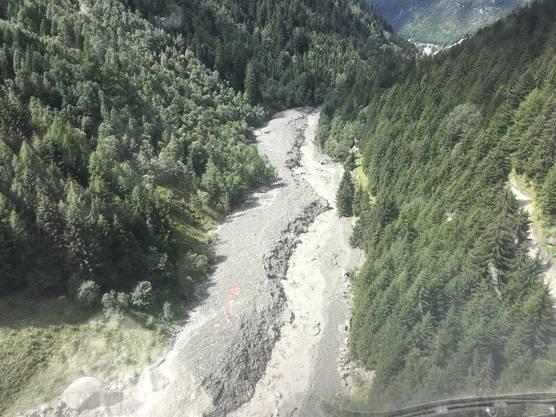 Am Piz Cengalo im Grenzgebiet zu Italien löste sich in der Nacht auf Freitag kein weiteres Gestein