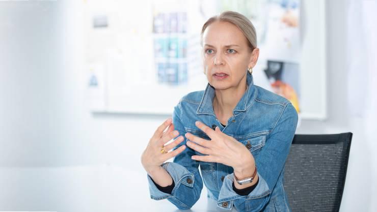 Sabina Larcher, Direktorin der Pädagogischen Hochschule der Fachhochschule Nordwestschweiz.