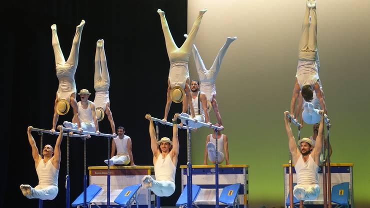 Der STV Wettingen veranstaltete zum 125-Jahre-Jubiläum eine spektakuläre Show im Kurtheater Baden.