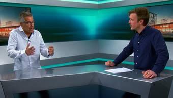 Zwei Wochen vor der Stadion-Abstimmung diskutieren die beiden AZ-Reporter Sebastian Wendel und Ruedi Kuhn über die Zukunft des FC Aarau