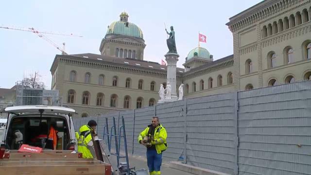 Vorbereitung auf Anti-WEF-Demos