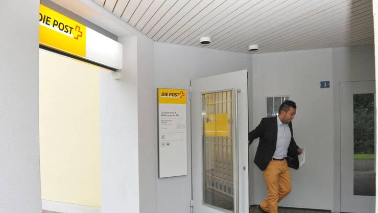 Die Postfiliale im Zentrum Schmitte in Lengnau wird aufgehoben und durch eine Postagentur im Volg ersetzt.