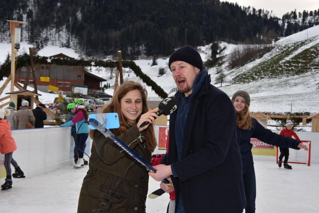 Eröffnung Eisbahn Mosnang
