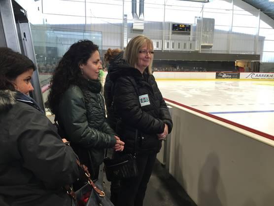 Marianne Stocker, Vizepräsidentin des Eislaufclubs Aarau.