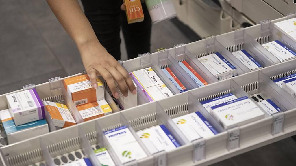 Die Produzenten- und Importpreise sind in der Schweiz im August weiter angestiegen. Unter anderem wurden Medikamente teurer.(Archivbild)