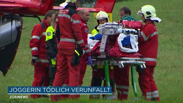Joggerin in Nürensdorf tödlich verunfallt