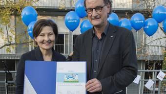 Baden erhält die Auszeichnung «kinderfreundliche Gemeinde»