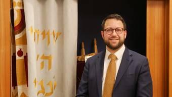 Rabbiner Noam Hertig.