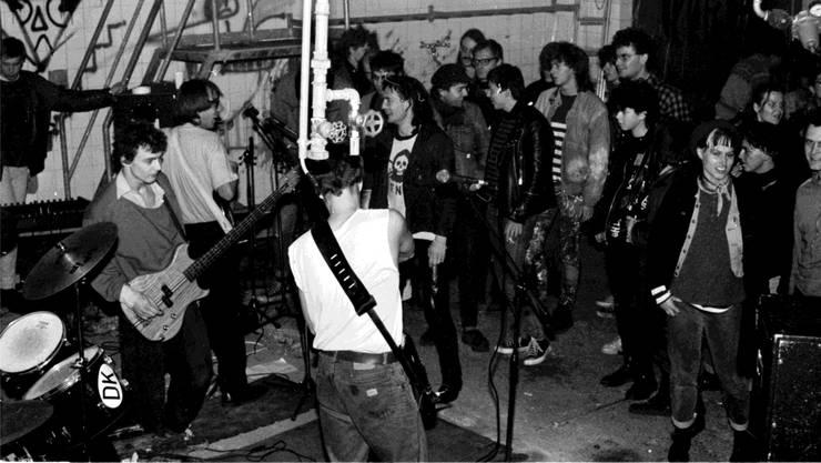 1988 besetzte die «Ikuzeba» für fünf Tage den Wettinger Schlachthof.