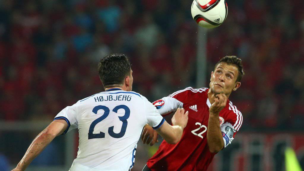 Albaniens Amir Abrashi spielte einst für die Schweizer U21-Nati