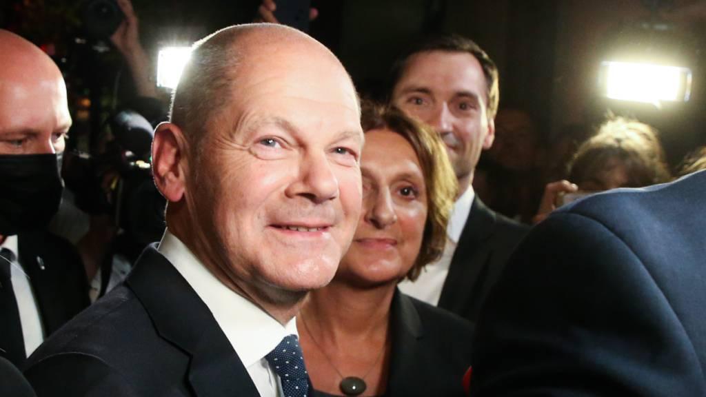 Scholz bekräftigt Regierungsanspruch der SPD