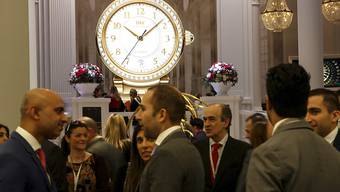 Am Montag hat die Luxusuhrenmesse SIHH ihre Tore für das Fachpublikum geöffnet. Am Freitag können die ausgestellten Luxusuhren auch von Kunden in Augenschein genommen werden.