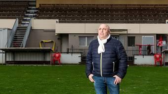 Wettingen-Präsident Pierluigi Ghitti muss seine Pläne für die 1. Liga vorläufig begraben.