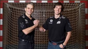 Michael Spuler (links) und Fabian Ammann trainieren ab der nächsten Saison Hand in Hand den TV Endingen.