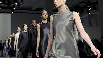 Models auf dem Laufsteg für Calvin Klein (Archiv)