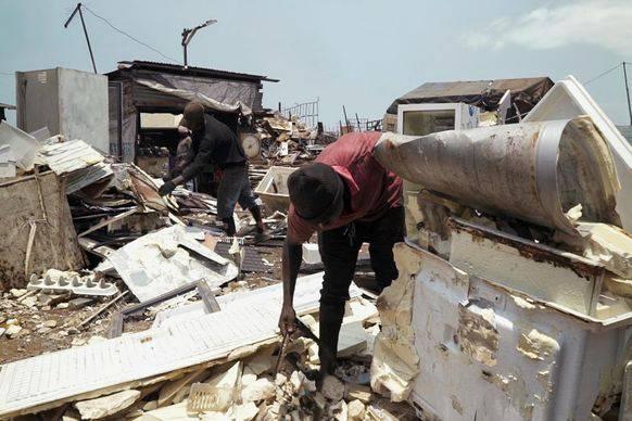 17'000 Tonnen Elektroschrott zerlegen junge Männer in der Hauptstadt von Ghana jährlich.