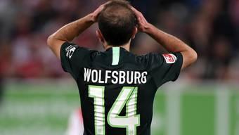 Admir Mehmedi lässt mit Wolfsburg die Gelegenheit auf den Sprung an die Tabellenspitze aus