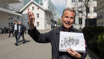 In die «verbotene Stadt» durfte nur, wer auch dort gearbeitet hat, erzählt Fredy Hauser.