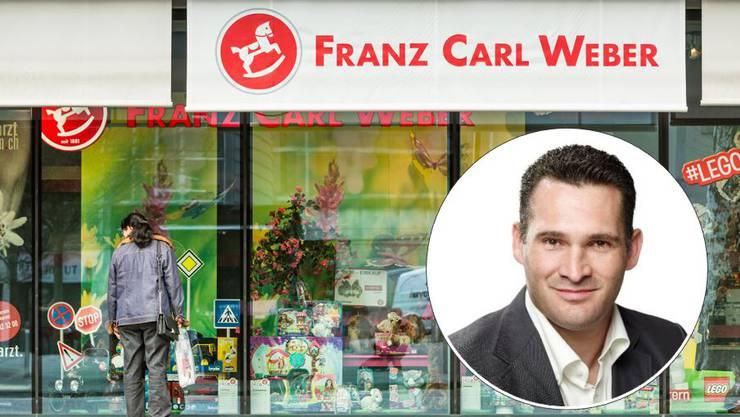 Marcel Dobler steigt bei Franz Carl Weber ein