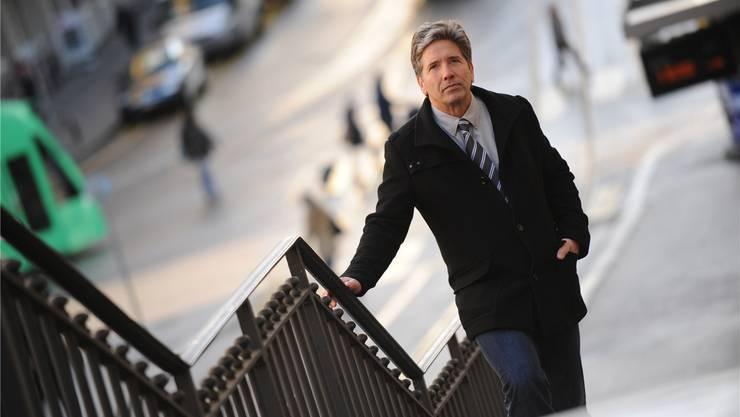 Der künftige Grossratspräsident Daniel Goepfert will Sicherheitsprobleme in der Innenstadt gezielt bekämpfen. Juri Junkov