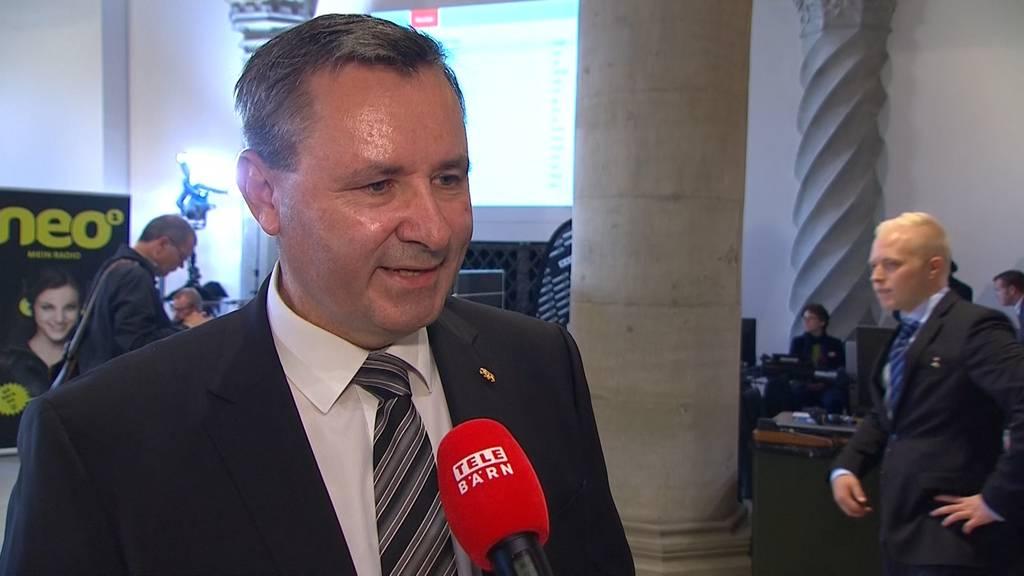 """Werner Salzmann: """"Der Vorsprung überrascht mich nicht."""""""