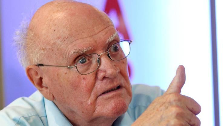 Alter schützt vor Visionen nicht: alt Landratspräsident Fritz Epple. KeN