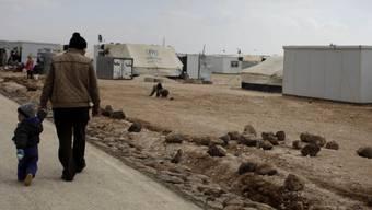 Syrische Flüchtlinge in Jordanien (Archiv)