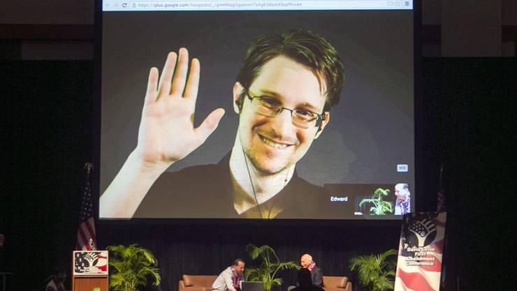 Edward Snowden erhält norwegischen Ossietzky-Preis (Archiv)