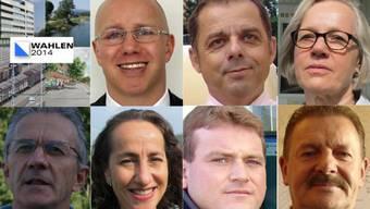 Zusammensetzung der Exekutive in Uitikon für die Wahlen vom 09.02.2014 Februar 2014
