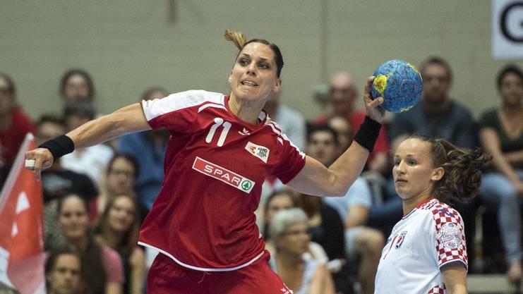 «Sport ist keine Männerdomäne!», sagt die ehemalige Handballerin Karin Weigelt.