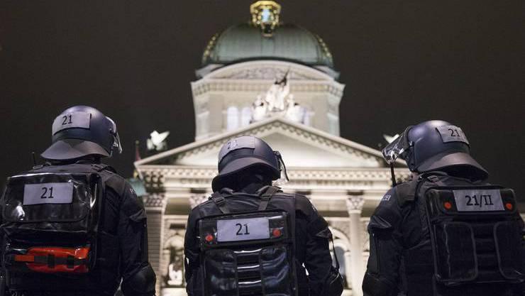 Das neue Sicherheitssystem im Bundeshaus wackelt.