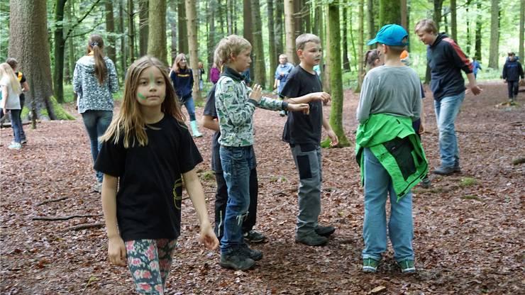 Beim Cevi-Regionalanlass treffen sich Kinder aus dem ganzen Kanton.