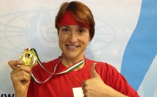 Sonia Gervilla holt sich die Silber-Medaille an der WM in Italien
