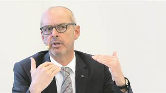 Gert De Winter ist seit dem 1. Januar 2016 Vorsitzender der Konzernleitung der Baloise Group. KEYSTONE/ Georgios Kefalas