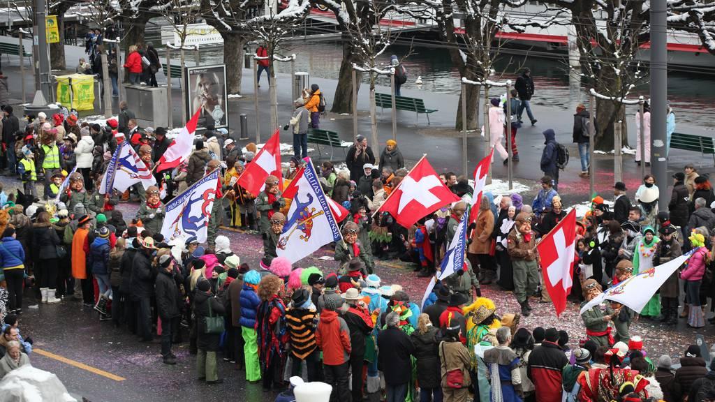 Keine Zelte mehr an der Luzerner Fasnacht