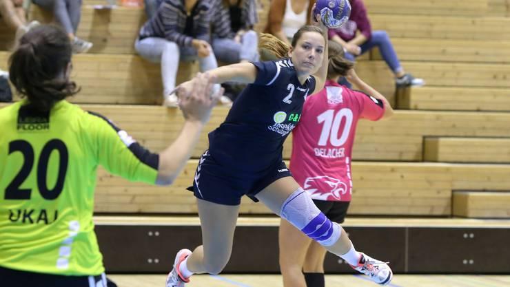 Simone Schöffel und die Leimentalerinnen wollen weitere zwei Punkte.